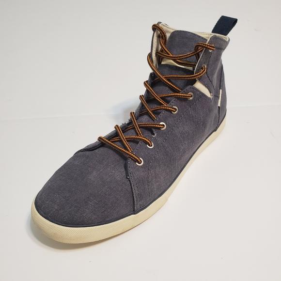 Vans Shoes | Womens Hi Top Gray